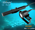 1000 Lumens Scuba Underwater Diving Video Torch