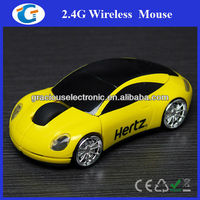 2.4G USB decorative car shape mouse wireless GET-MCR08