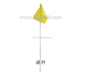 Good Elasticity Golf Green Fiberglass Golf Flagpole