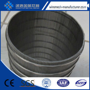Stainless steel Johnson water well screen/deep well pipe