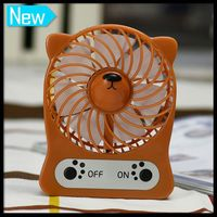 Summer Cartoon Top Sell Mini Snail Desk Micro Usb Fan