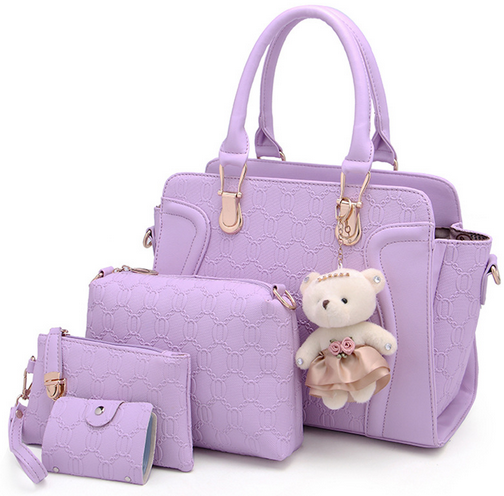 Womens Designer PU Hand Bags,China Supplier Ladies Bag And Purse