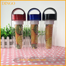 eco friendly 25oz tritan detox water bottle infuser 2016 new fruit infuser water bottle 800ml plastic raw material