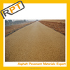 Yellow hot mix asphalt for driveways road pavement