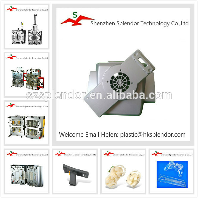 OEM manufacturer of two cavities plastic injection mold