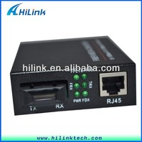 20/40km One SFP Slot 10/100/1000M Base-Tx to Fiber Optics Media Converter
