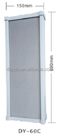 60W DY-C Series high Pillar speaker Aluminium alloy material for public address systems
