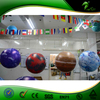 Custom Inflatable Planet Balloon With Led Light / Hanging Lighting Nine Planets Balloons