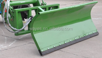 Hydraulic Type TX180 Snow Plow Blade Mounted on 60-80hp Tractor