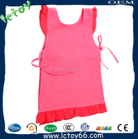 Fashional 100 % cotton red cooking apron