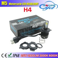H4 Flip LED Hi/Lo Motorcycle Car Bike 2800lm H4 Headlight Fog Spot Light