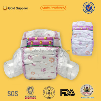 High quality super absorption disposable sleepy baby diaper for oem