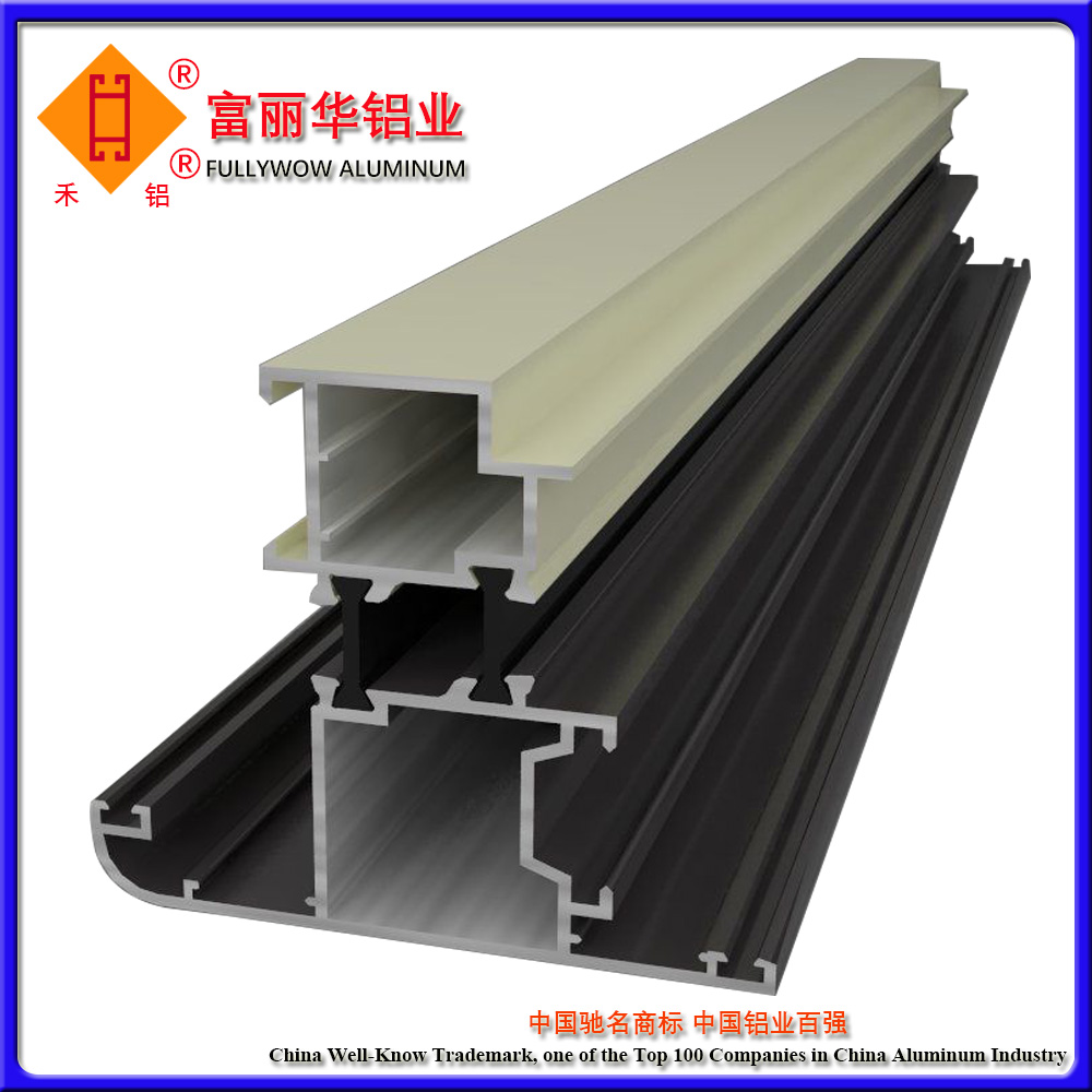 Customize extruded architectural aluminium profiles with great price