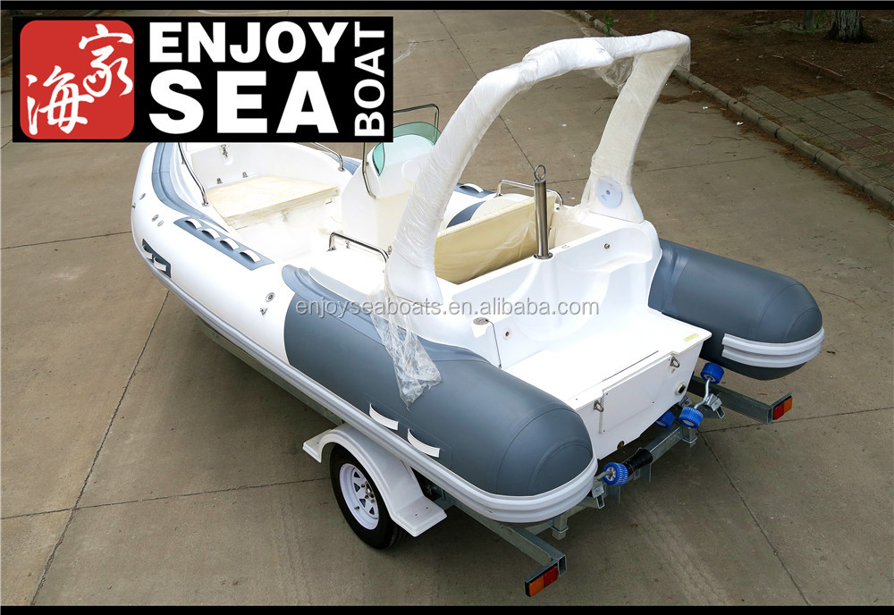 Qingdao Jiahai hot sale inflatable rib boats with CE certificate RIB-580 for sale!!!