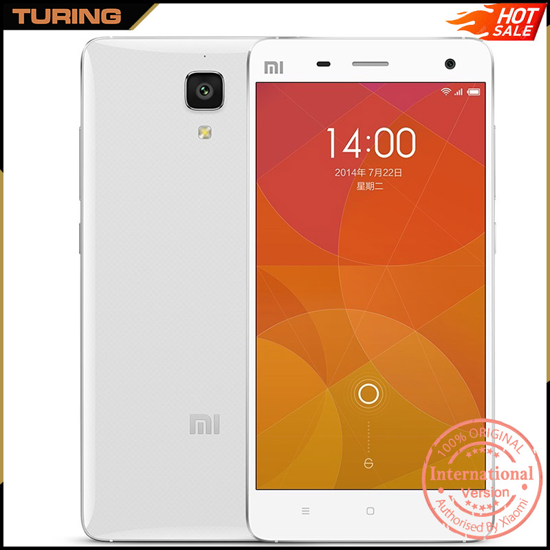 Xiaomi Mi 4 Mi4 Lte Cheap Price Small Size Ultra Slim 4G Smartphone Mobile Phone 2GB RAM 16GB ROM Android 4.4 13MP