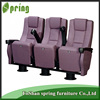 Good looking luxury style fixed seat fabric cinema theater seating MP-04