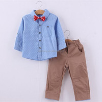 High quality 2 pieces handsome young boys clothing casual