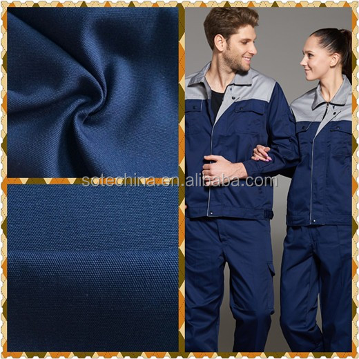 "100% cotton 10*10 70*40 57/58"" plain fabric - 100% pure cotton plain fabric for workwear uniform"