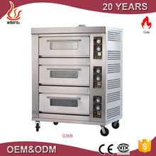 Good quality stone gas brick pizza oven from ovens sale