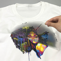 Custom design 3D thick heat transfer sticker manufacturer silk screen print for t-shirt and cotton bags