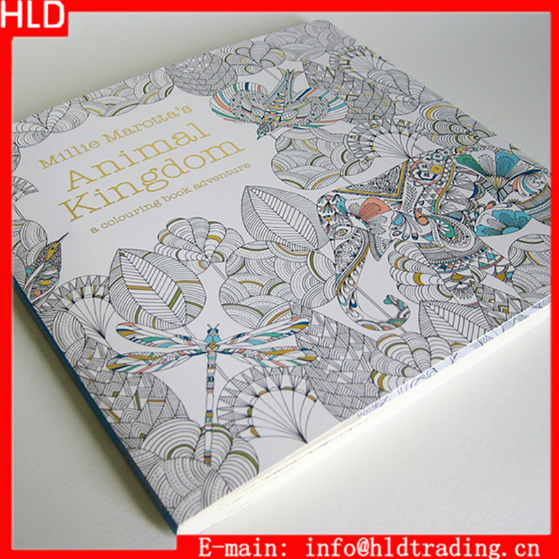Millie Marottas Animal Kingdom Coloring <strong>Book</strong>