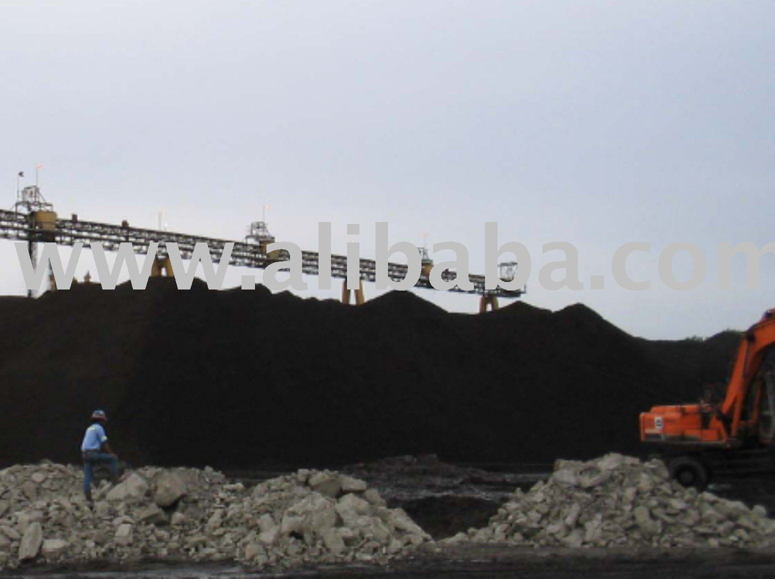 Steam Coal From Kalimantan Indonesia