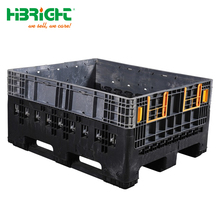 HDPE plastic collapsible bulk container