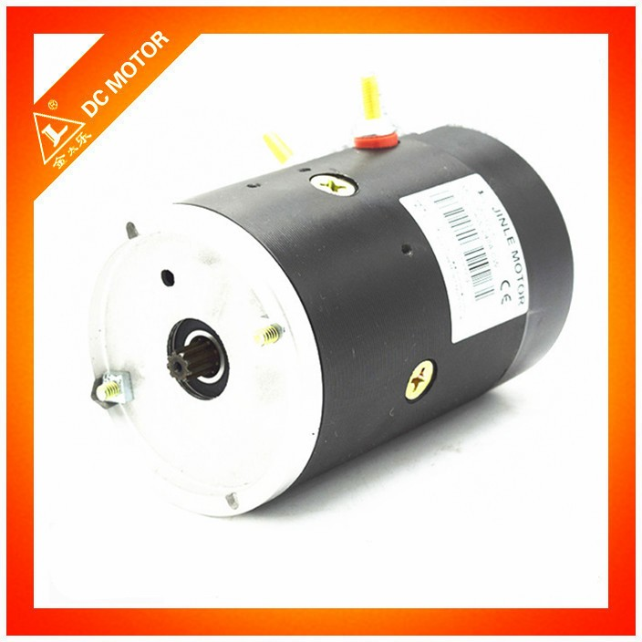 24v 2.2 kw hydraulic dc motor for manual electric stacker power units