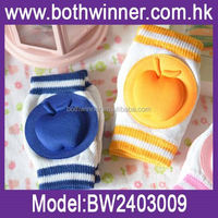 Multi-Color Baby Kneepad Protection Sock , H0T082 , toddler Cotton kneelets , baby care knee pad