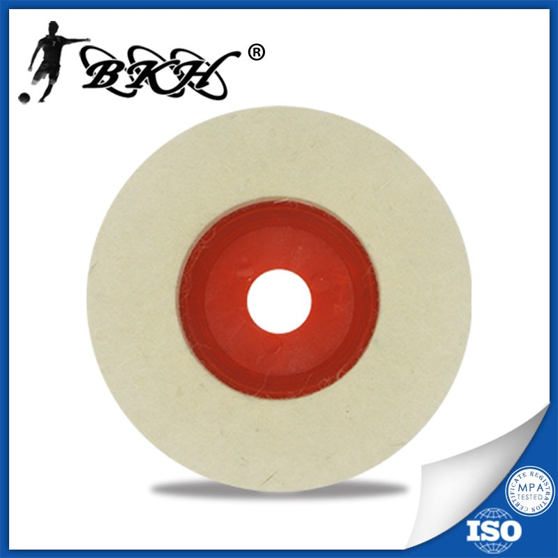 4 inch non woven wheel nylon polishing wheel surface conditioning disc nylon buffing wheel