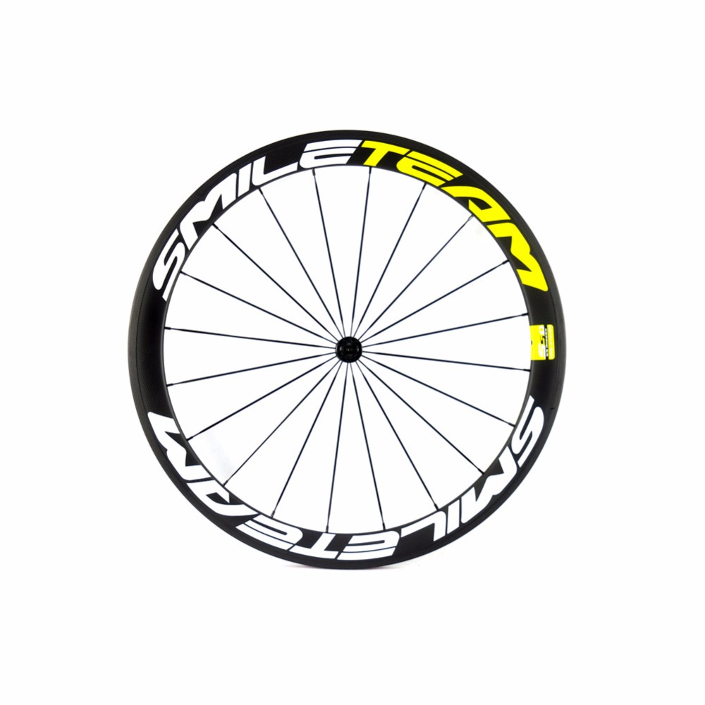 700c Chinese Carbon Wheels 50mm Size Carbon Road Racing wheels U-Shape Wheels With Powerway hubs