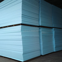 Roof insulation XPS extruded polystyrene foam board blue foam pink foam