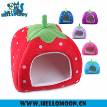 HELLOPUPPY Wholesale Colorful Strawberry Shape Bed Cheap Dog Houses