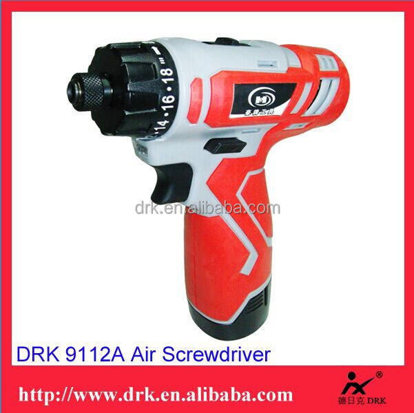 Professional Top Performance China 9112A 12V Li-ion Rechargeable Cordless Screwdriver Battery Drill