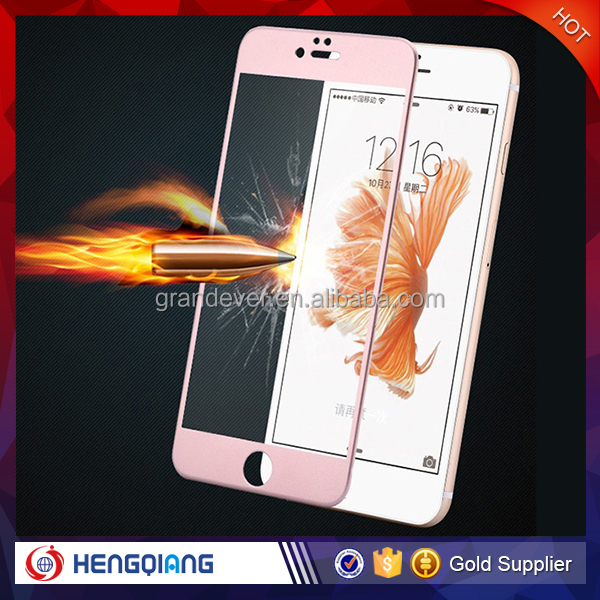 Trade assurance!! !Hot sale mobile phone accessory tempered glass film screen protector for iphone 6