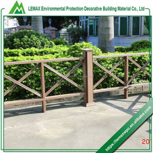 Professional manufacturer good performance Cheapest price long-life wood plastic composite decking fence