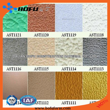 Acrylic building exterior wall emulsion paint coating