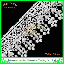 Embroidered Pattern decorative lace trim and Bag,Dress,Garment,Home Textile,Wedding Use eye embroidery SDNT084