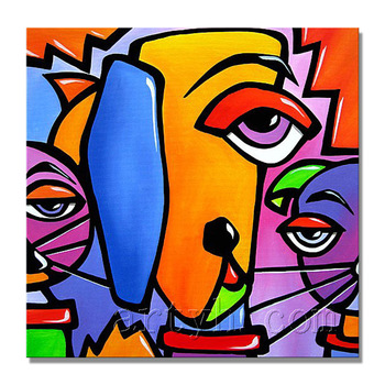 Newest Handmade Pablo Picasso Animal Picture Modern Art