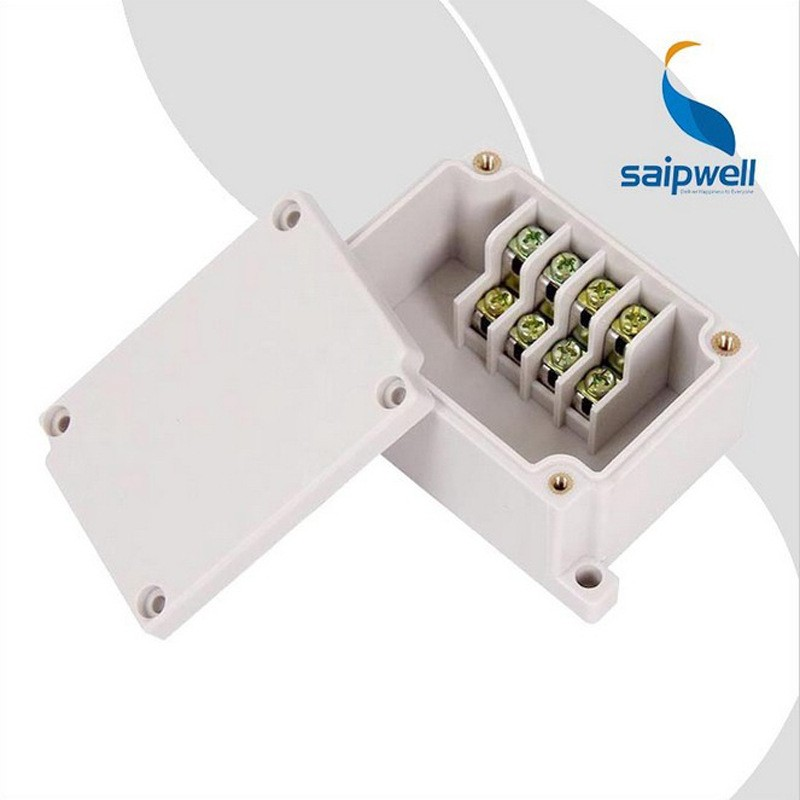IP66 plastic waterproof electrical enclosure ABS switch box polycarbonate terminal box 4p