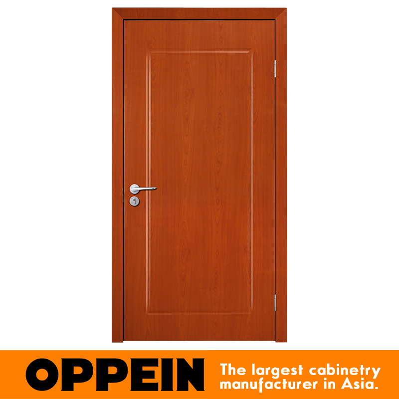 2016 Simple Design Economic Affordable PVC Wooden Door Design