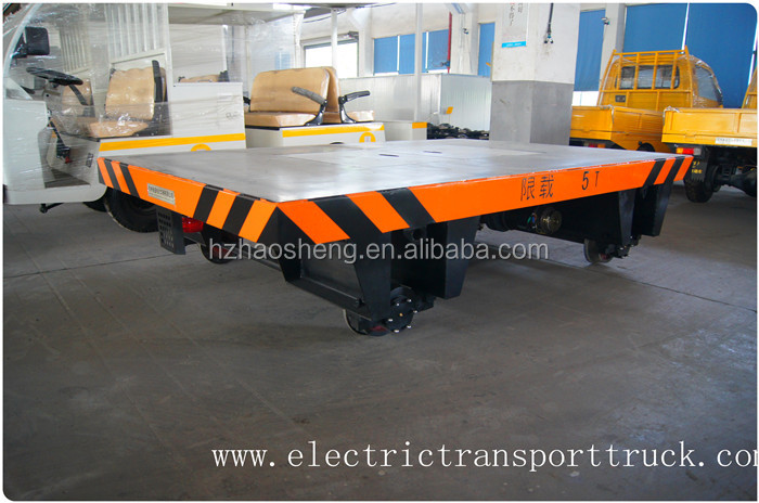 Made In China High Speed Track Rail flat cart