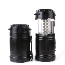 CYSHMILY Outdoor Tent Camping Lamp Light Emergency Lantern With Telescopic Flashlight 30 LED Camping Lamp
