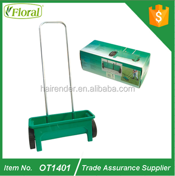 12L capacity of lawn sand spreader, sand salt spreader,Aluminium tube,Dia:0.7mm