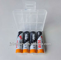 AA size 1.2v 2600mAh nimh battery with hang tag