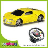 Newest product 1:20 high speed kids steering wheel toy for car seat