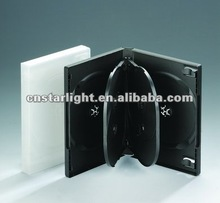 22MM Black Multi DVD Case for 6 disc