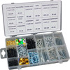 Universal Sizes 1000pc Assorted Standard Coil Roofing Nail Kit
