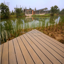 Low maintenance capped decking material wpc co extrusion decking for outdoor