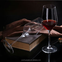 Factory Price Red Wine Glass, Wine Water Juice Glass Wine Goblet Glass